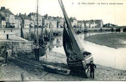 N°31776 -cpa Le Pouliguen -le Port à Marée Basse- - Pêche