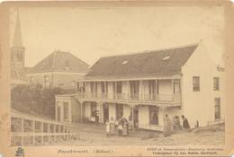 Zandvoort, Poststraat (Kabinetfoto 1893)  (originele Foto Op Karton) - Zandvoort