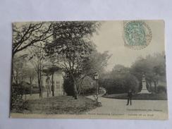 """Charleville  Buste De Jean-Arthur Rimbaud Poete Ardennais """"1854-1891"""" Square De La Gare - Charleville"""