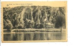 Yvoir Les Villas Et Rochers De Champalle - Yvoir