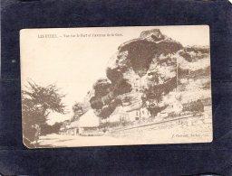 "67544    Francia,  Les  Eyzies,  Vue Sur Le Fort Et L""Avenue De La Gare,  NV - Sarlat La Caneda"
