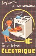 Buvard La Cuisine Electrique - Buvards, Protège-cahiers Illustrés