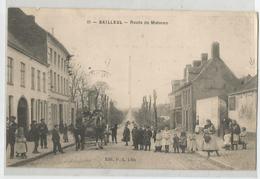 59 - Nord - Bailleul Route De Meteren Animée 1907 - France