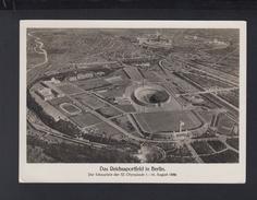 Dt. Reich AK Das Reichssportfeld In Berlin Olympia 1936 Sonderstempel - Olympic Games