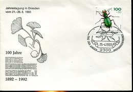 17941 Germany, Special Postmark Kiel 1993,  Kaefer, Cockroach, - Insectes