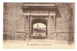 CPA 2A BONIFACIO Porte De La Ville - Andere Gemeenten