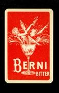 Speelkaart ( 0174 ) 1 Losse Kaart - Publicité Reclame  Wijn Likeur Liqueur Distillerie Stokerij -  BERNI - Barajas De Naipe