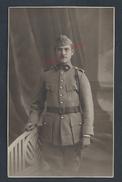 MILITARIA CARTE PHOTO MILITAIRE SOLDAT LOUTERBACH DU 29e FOURRAGERE 1924 : - Personaggi