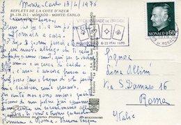 17947 Monaco, Special Postmark Slogan 1976  V. Bridge Olympiade - Games
