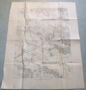 Carte Du S.G.A. : SAINT-CYR L'Ecole - 1 / 20 000ème - 1919 / 25. - Mapas Topográficas