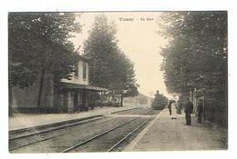 CPA 89 TOUCY La Gare - Toucy