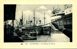 N°31812 -cpa Le Havre -le Bassin De L'Eure- Navires De Commerce- - Commerce