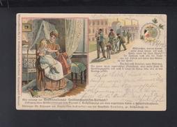 Dt. Reich Litho-AK Deutschnationaler Handlungsgehilfen-Verband 1898 - Gewerkschaften
