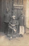 Militair Leger Wereld Oorlog I WO I   1914-1918  Commando Löschzug II       A 5280 - War 1914-18