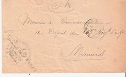 TRESOR ET POSTES * 86  * + Cachet 62° DIVISION D'INFANTERIE - Postmark Collection (Covers)