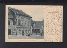Tschechien Czechoslovakia AK Gruß Aus Graupen Krupka Restaurant Norbert Dorschner 1906 - Repubblica Ceca