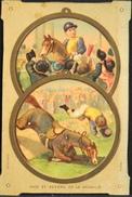 Chromo. - Face Et Revers De La Médaille - Illustrateur Bognard - En L'état - Vieux Papiers