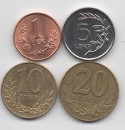 Albanie : Série De 4 Pièces 1996-2011 - Albania