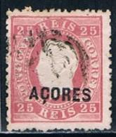 Açores, 1871/6, # 19, Used - Azores