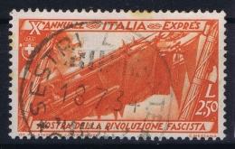 Italia  Sa E 18  Mi Nr 434 Used Obl  1932 - 1900-44 Victor Emmanuel III.