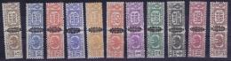 Italia  Sa 48 - 59 Mi Nr 48 - 59 Min 3 Lire  MNH/**/postfrisch/neuf Sans Charniere 19455 PP - 1944-45 République Sociale