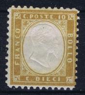 Italia  Regno 1862  Sa 1 Mi Nr 9 MH/* Falz/ Charniere - 1861-78 Victor Emmanuel II