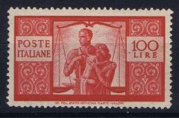 Italia 1945  Sa 565 Mi Nr 704 A MNH/**/postfrisch/neuf Sans Charniere - 6. 1946-.. Republik