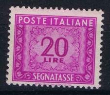 Italia Segnatasse  Sa 106  Mi Nr 83 MNH/**/postfrisch/neuf Sans Charniere - 1946-.. République