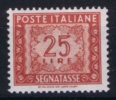 Italia Segnatasse  Sa 107  Mi Nr 84 MNH/**/postfrisch/neuf Sans Charniere - 6. 1946-.. Repubblica
