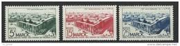 "Maroc YT 285 à 287 "" Anniversaire UPU "" 1949 Neuf* - Marocco (1891-1956)"