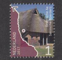 Nederland - Mooi Nederland 2017 - Beek- En Rivierdalen - Drentsche AA - Saksische Boerderij - MNH - Periode 2013-... (Willem-Alexander)