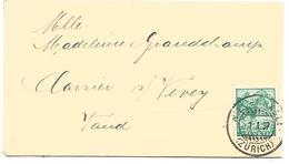 SUISSE CARTE DE NIEDERHASLI DU 1/1/1937 - Marcophilie