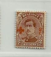 (837) Timbre Belgique Croix-Rouge   N° 151 - 2c + 2c - 1918 Croix-Rouge