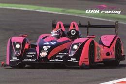 24 Heures Du Mans  2011  -  OAK Racing  Pescarolo-Judd LMP2  -  Charouz/De Crem/Nakano-  Carte Promo - Le Mans