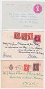 Grande Bretagne  3. EP.  SEE SCANS - Lettres & Documents