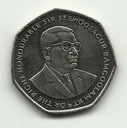 2000 - Mauritius 10 Rupees, - Mauritius