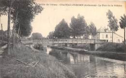 08 - ARDENNES / Chateau Porcien - Le Pont De La Villette - - France