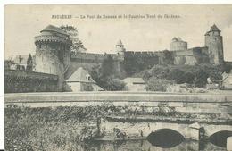 35 Fougeres          Le Pont De Rennes Et La Courtine - Fougeres