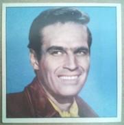 CINE-FOTO - MOVIE ARTISTS - CHARLTON HESTON - OLD PRINT PHOTO PICTURE CARD / CHROMO PORTUGAL 1960 CINEMA FILM STARS - Collections