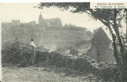 35 Fougeres      Lesplanade   Du Donjon Animée - Fougeres