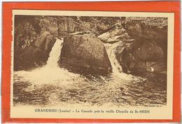 Lozere : Grandrieu, La Cascade Prés La Vieille Chapelle De St Meen - France