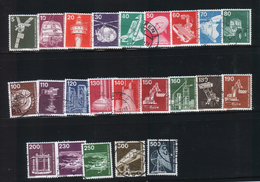 Deutschland 1975/ 1978 /1982 - Mi 846-59, 990-94, 1134-38 Industrie Und Technik 23v.-used/gestem.(O) - [7] Repubblica Federale