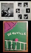 Magazine DEAUVILLE. 1951 - Moda