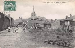 08 - ARDENNES / Les Mazures - Route De Renwez -  Beau Cliché Animé - France