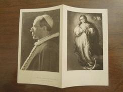 LA PREGHIERA DELL' ANNO MARIANO  -  Festa Delle Presentazione Di Maria Santissima : 21 Novembre 1953 - Santini