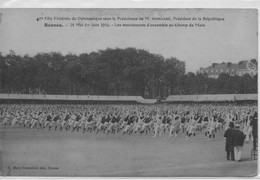 CPA Rennes - 40ème Fête Gymnastique Juin 1914 Mouvement D'ensemble - Rennes
