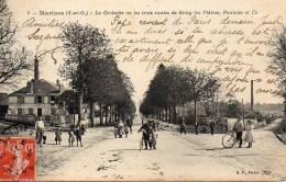 95 MARINES  La Croisette Ou Les Trois Routes De Grisy-les-Plâtres, Pontoise Et Us - Marines