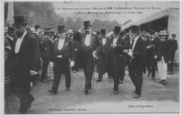 CPA Rennes - Souvenir De La Visite De MM Clemenceau & Ruau - Rennes