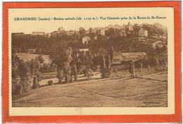 Lozere : Grandrieu, Vue Générale Prise De St Bonnet - France