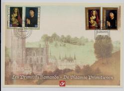 Belgie - Belgique 4085HK Herdenkingskaart - Carte Souvenir 2010 - Vlaamse Primitieven In Franse En Belgische Collecties - Cartes Souvenir
